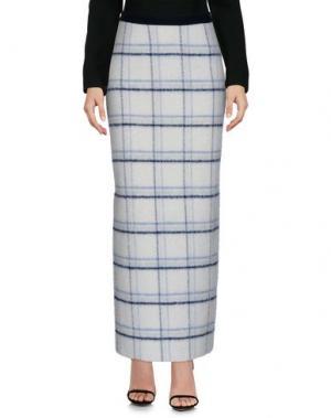 Длинная юбка SONIA DE NISCO. Цвет: белый