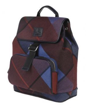 Рюкзаки и сумки на пояс VIVIENNE WESTWOOD. Цвет: баклажанный