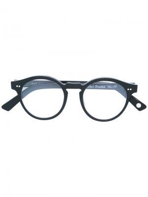 Оптические очки Rue Charlot Ahlem. Цвет: чёрный