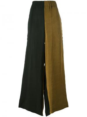 Брюки палаццо Taonga Uma Wang. Цвет: чёрный
