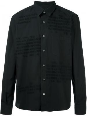 Рубашка Code Jimi Roos. Цвет: чёрный
