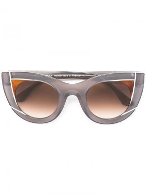 Солнцезащитные очки Wavvy Thierry Lasry. Цвет: серый
