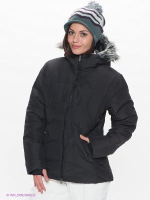 Куртка SALOMON. Цвет: черный