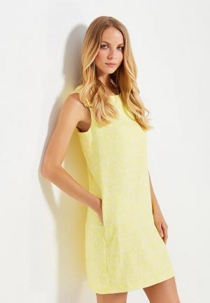 Платье Emka. Цвет: желтый