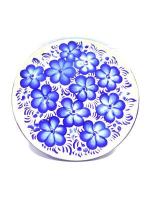 Тарелка Taowa. Цвет: синий, темно-синий