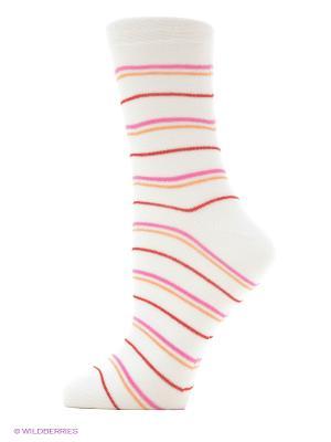Носки женские М 1004 Грация. Цвет: белый, малиновый, оранжевый, розовый
