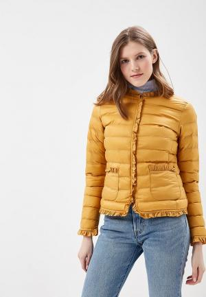 Куртка утепленная Softy. Цвет: желтый