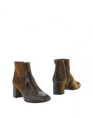 Полусапоги и высокие ботинки OVYE' by CRISTINA LUCCHI. Цвет: бронзовый