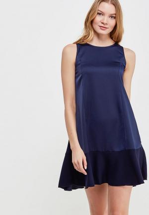 Платье Massimiliano Bini. Цвет: синий