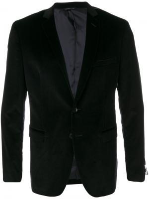 Классический пиджак Tonello. Цвет: чёрный