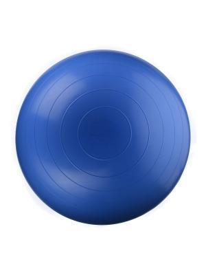 Мяч гимнастический (фитбол) диаметр 75 см DOCA. Цвет: голубой