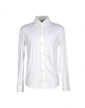 Pубашка MAGLIARO. Цвет: белый