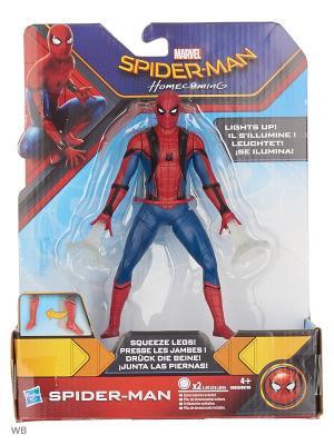 Фигурки человека-паука паутинный город 15 см Spider-Man. Цвет: синий, красный
