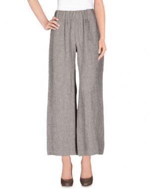 Повседневные брюки DANOLIS. Цвет: темно-коричневый