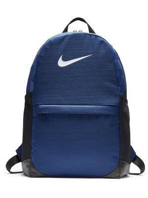 Рюкзак Y BRSLA BKPK Nike. Цвет: синий, белый, черный