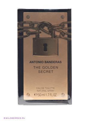 Парфюмерная вода Antonio Banderas Golden Secret, 50мл. Цвет: прозрачный
