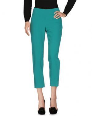 Повседневные брюки GIANLUCA CAPANNOLO. Цвет: зеленый