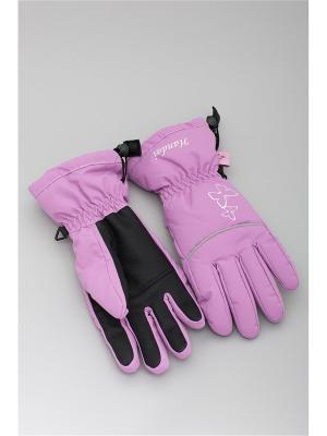 Перчатки OKWAY. Цвет: сиреневый