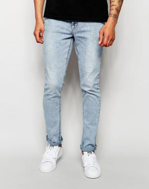 Systvm Голубые джинсы скинни. Цвет: синий