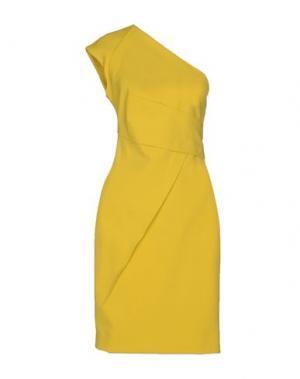 Короткое платье KAUFMANFRANCO. Цвет: желтый