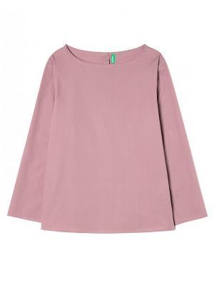 Блузка United Colors of Benetton. Цвет: бледно-розовый