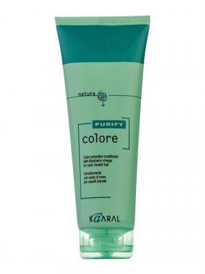 Purify Кондиционер для окрашеных волос на основе экстракта ежевики Colore Conditioner 250мл. Kaaral. Цвет: светло-зеленый