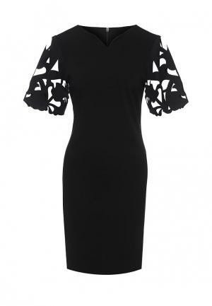 Платье Borodulins Borodulin's. Цвет: черный