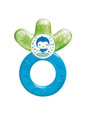 Прорезыватель для зубов охлаждающий MAM. Цвет: синий, зеленый