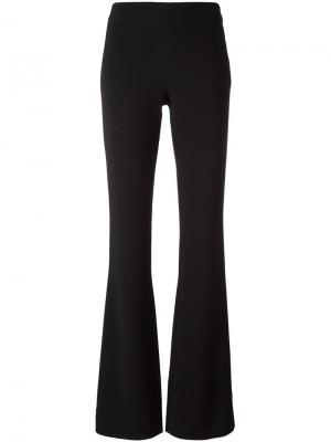 Расклешенные брюки Gianluca Capannolo. Цвет: чёрный