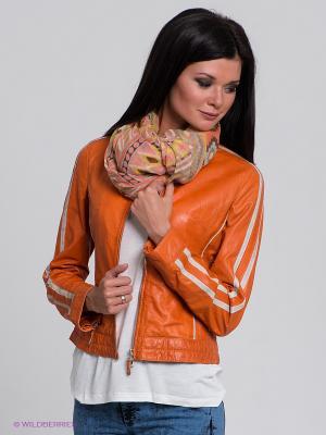 Куртка Mauritius. Цвет: оранжевый