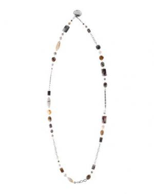 Ожерелье CHAN LUU. Цвет: серый