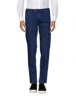 Повседневные брюки BARONIO. Цвет: темно-синий