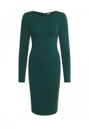 Платье Olga Skazkina. Цвет: зеленый