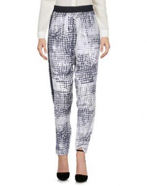 Повседневные брюки LORNA. Цвет: серый