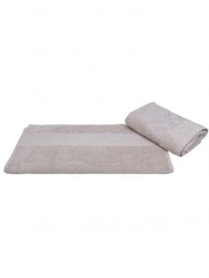 Махровое полотенце 100x150 RUZANNA, бежевый, 100% хлопок HOBBY HOME COLLECTION. Цвет: бежевый