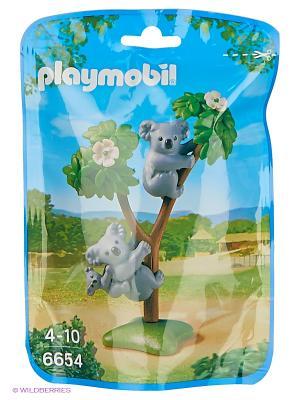Зоопарк: Семья Коал Playmobil. Цвет: серый