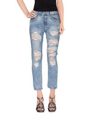 Джинсовые брюки ODI ET AMO. Цвет: синий