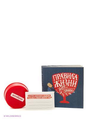 Сет подарочный. Правила жизни трудоголика. Комплект из 10 отрывных открыток Антибуки. Цвет: бежевый