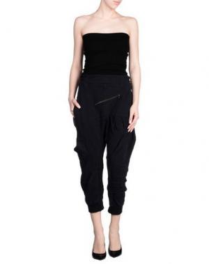 Повседневные брюки DEMOBAZA. Цвет: черный