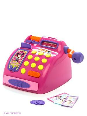 Касса Minnie с аксессуарами IMC toys. Цвет: розовый