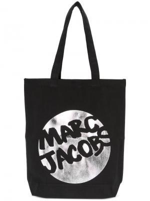 Сумка-тоут с логотипом Marc Jacobs. Цвет: чёрный