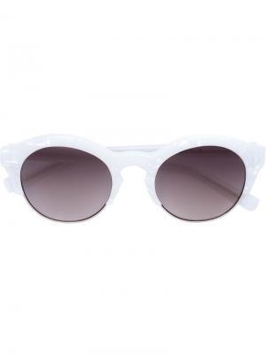 Солнцезащитные очки Self Portrait x Le Specs. Цвет: белый