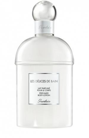 Молочко для тела Delices de Bain Guerlain. Цвет: бесцветный
