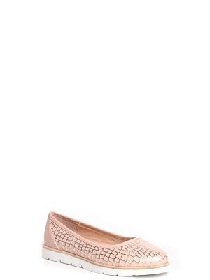 Балетки MILANA. Цвет: бледно-розовый