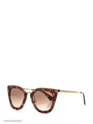 Очки солнцезащитные PRADA. Цвет: розовый