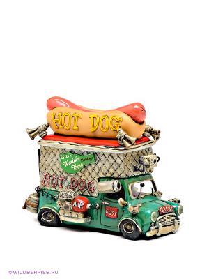 Машина Gus the Big Dog Comical World of Stratford. Цвет: зеленый (осн.)