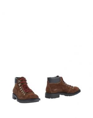 Полусапоги и высокие ботинки BOEMOS. Цвет: оранжевый