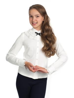 Блузка BLAUZ. Цвет: молочный
