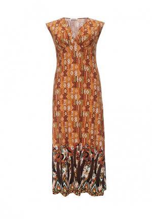 Платье Vay. Цвет: оранжевый