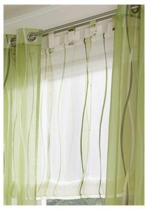 """Римская штора """"Dimona"""" MY HOME. Цвет: белый/серебристый, белый/синий, кремовый/зеленый, кремовый/шоколадный"""